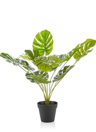 The Mia Yapay Çiçek 50 Cm Saksılı Yeşil